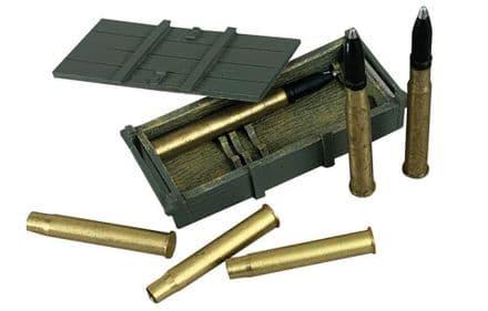 WB25086 German 88mm Gun Crate, Armour Piercing Shells